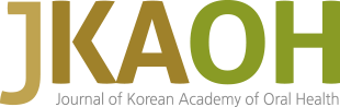 JKAOH Journal of Korean Academy of Oral Health